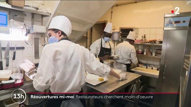 Réouverture mi-mai : les restaurateurs redoutent un manque de main-d'œuvre