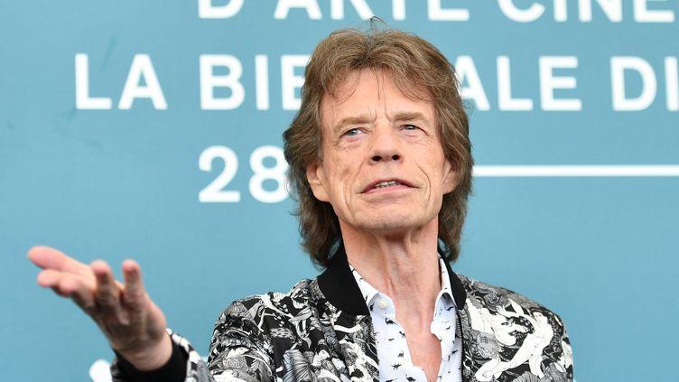 Mick Jagger au festival du film de Venise, en septembre 2019. (ALBERTO PIZZOLI / AFP)