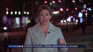 Valérie Astruk, correspondante de France Télévisions aux États-Unis. (FRANCE 3)