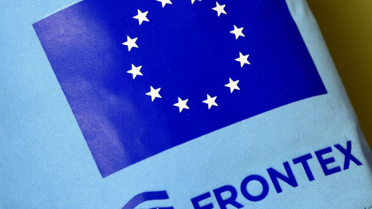 (Le logo de l'agence Frontex©MAXPPP)