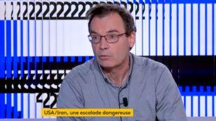 Thierry Coville, chercheur à l'IRIS. (FRANCEINFO)