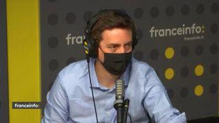 Laurent Richard,fondateur de Forbidden Stories. (FRANCE INFO / RADIO FRANCE)