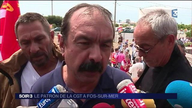 Le patron de la CGT, Philippe Martinez, ne désarme pas