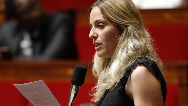 La députée LREM du Var,Cécile Muschotti, le 26 juin 2019 à l'Assemblée nationale. (THOMAS SAMSON / AFP)