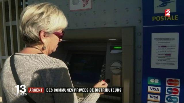 Argent : des villages privés de distributeurs