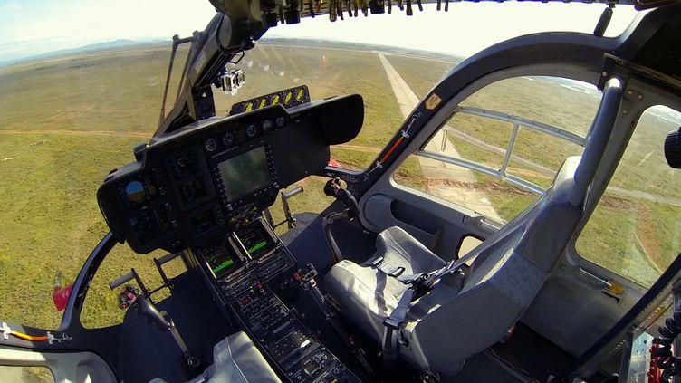 Un cockpit d'hélicoptère. Photo d'illustration. (HO / EUROCOPTER)