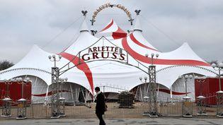 Le chapiteau du Cirque Arlette Gruss, ici en 2009. (PIERRE ANDRIEU / AFP)