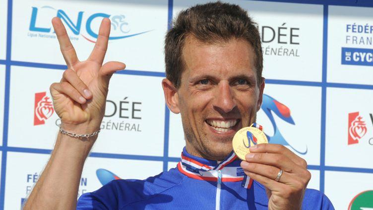 Nicolas Vogondy (BBOX) s'est échappé en compagnie de Dimitri Champion (AG2R-La Mondiale).
