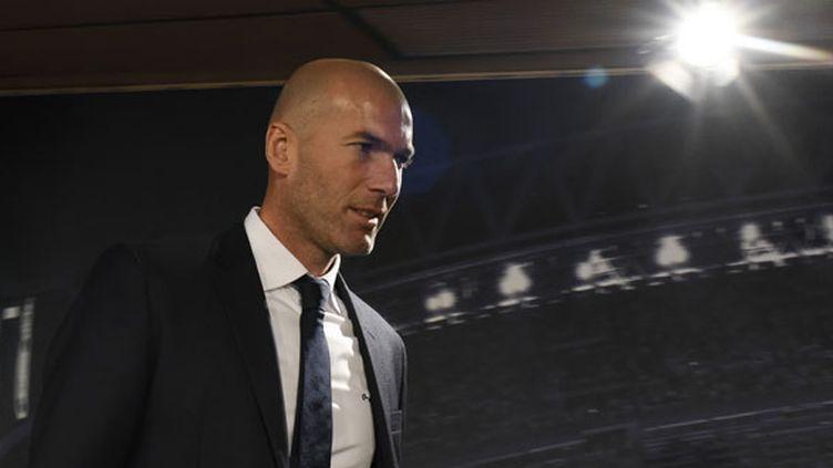 Zinédine Zidane, le nouvel entraîneur du Real Madrid