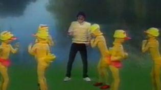 """Le créateur de """"La danse des canards"""", JJ Lionel. (Capture écran reportage France 2) (FRANCE 2)"""