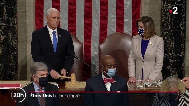 États-Unis :retour au calme un jour après l'invasion du Capitole