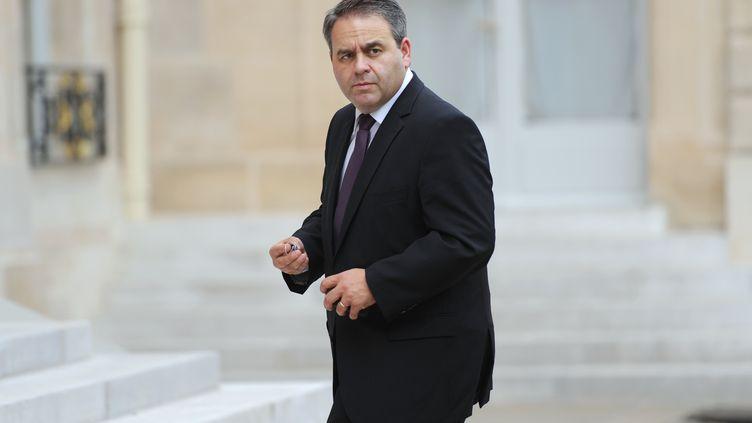 Le ministre de la Santé, Xavier Bertrand, à l'Elysée, le 10 octobre 2011. (LIONEL BONAVENTURE / AFP)