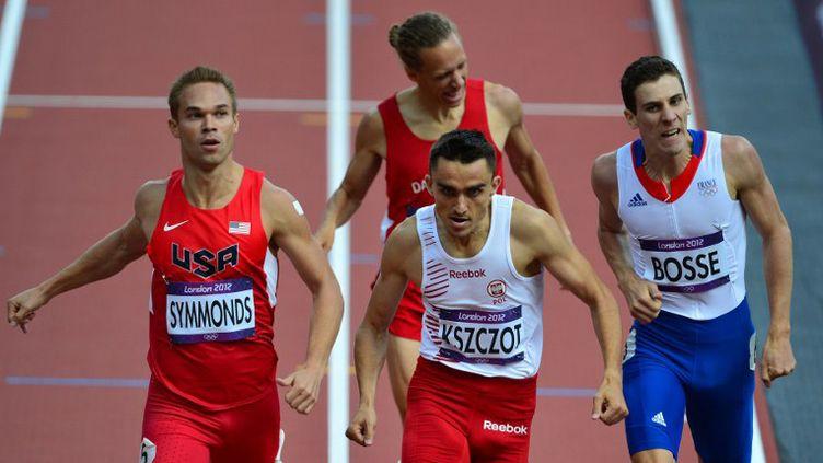 Pierre-Ambroise Bosse prend la 4e place de sa série (GABRIEL BOUYS / AFP)