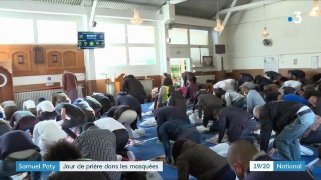Mort de Samuel Paty : les mosquées honorent sa mémoire