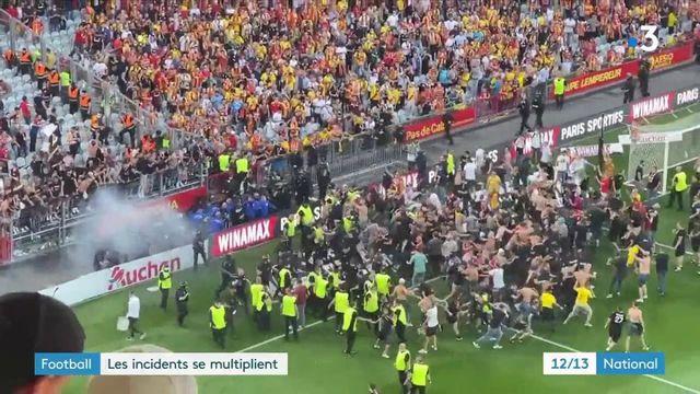 Football : des incidents en hausse chez les supporters