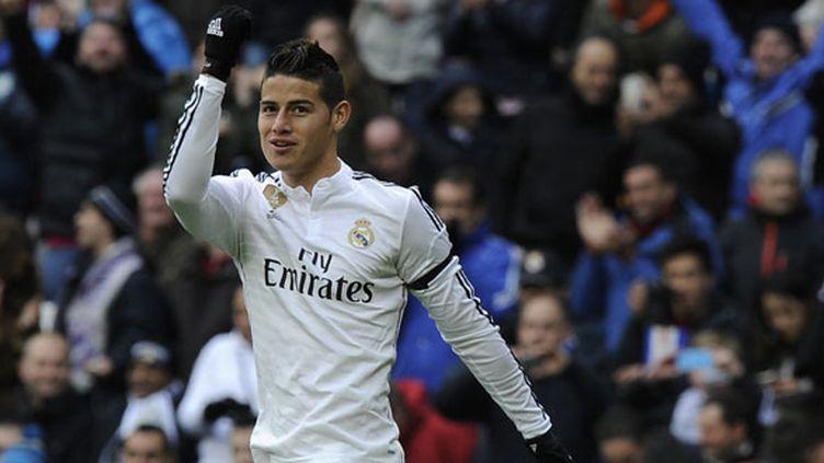 James Rodriguez, le milieu de terrain du Real Madrid