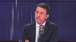 Manuel Valls, ancien Premier ministre, invité de franceinfo, mardi 27 mars 2018. (CAPTURE D'ECRAN/FRANCEINFO)