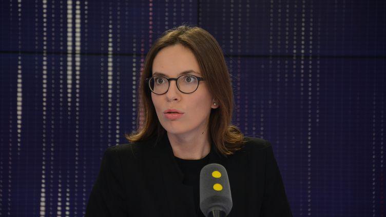 Amélie de Montchalin, députée LREM de l'Essonne. (JEAN-CHRISTOPHE BOURDILLAT / RADIO FRANCE)