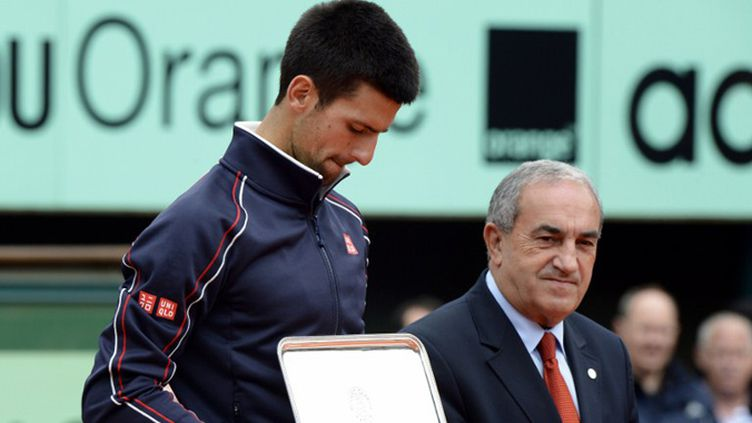 Djokovic malheureux finaliste de l'édition 2012 (PASCAL GUYOT / AFP)