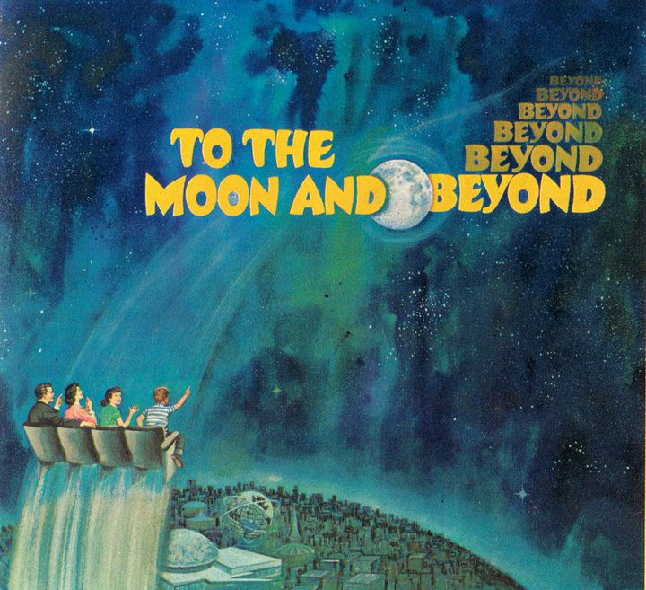 """""""To the Moon and beyond"""" : l'affiche de 1964  (DR)"""