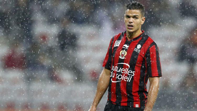 Le joueur de l'OGC Nice, Hatem Ben Arfa