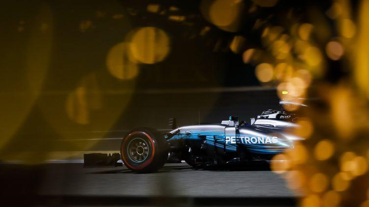 Valtteri Bottas (Mercedes) monte en puissance (FLORENT GOODEN / DPPI MEDIA)