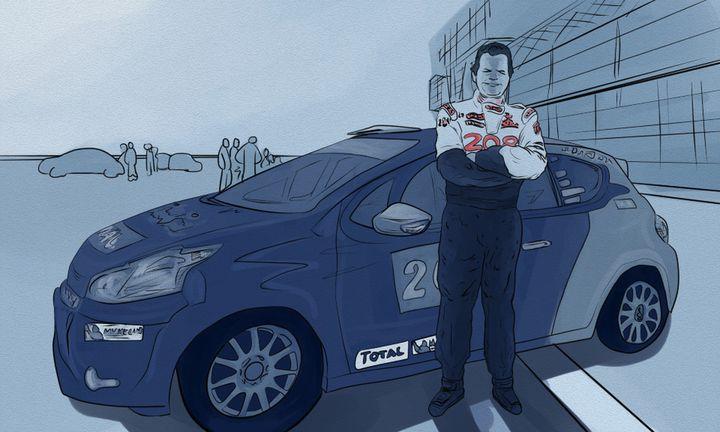 Laurent Pasquali, pilote automobile, ancien champion de France de rallye a été assassiné en 2018. (NICOLAS DEWIT / RADIO FRANCE)