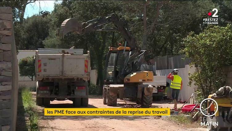 Les contraintes sanitaires sur les chantiers font monter les prix (France 2)