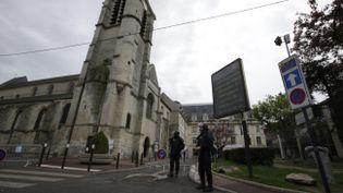 L'église Saint-Cyr-Sainte-Julitte de Villejuif (Val-de-Marne), visé par unattentat déjoué en avril, dont Fabien Clain aurait été le coordinateur. (MAXPPP)