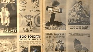 Affiches connues ou moins connues de la seconde Guerre Mondiale  (France 3)