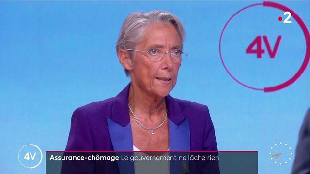 Réforme de l'assurance-chômage: «On veut encourager le travail», précise Élisabeth Borne