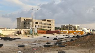 Une rue de Tripoli, la capitale libyenne, le 12 janvier 2020. (HAZEM TURKIA / ANADOLU AGENCY / AFP)