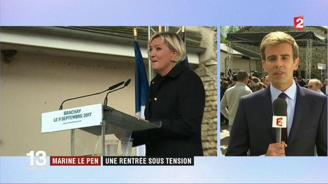 Marine Le Pen : une rentrée politique sous tension