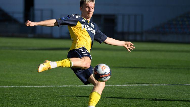 Aleksandr Golovin a signé son premier triplé en Ligue 1 dimanche 7 février à Nîmes (4-3). (NICOLAS TUCAT / AFP)