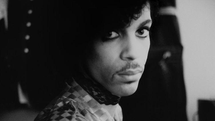 """Prince en backstage durant la tournée """"1999"""", en 1982 ou 1983.  (Allen Beaulieu / The Prince Estate)"""