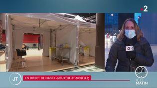 La ville, très touchée par le coronavirus, entame mercredi 13 janvier, la vaccination de ses habitants plus de 75 ans ne résidant pas en Ehpad (France 2)