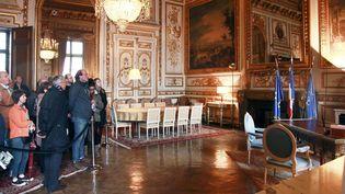 Les Journées du patrimoine à l'Ecole militaire de Paris (14 septembre 2013)  (Julien de Fontenay / JDD / Sipa)