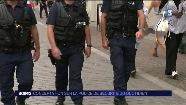 Concertation sur la police de sécurité du quotidien