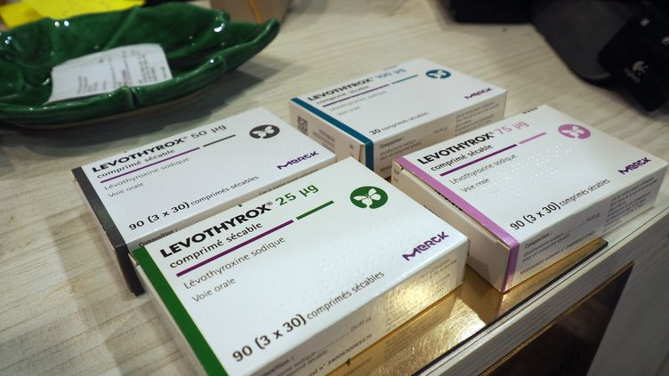 Des boîtes du médicament Levothyrox, le 30 novembre 2018.  (PICTURE ALLIANCE / GETTY IMAGES)