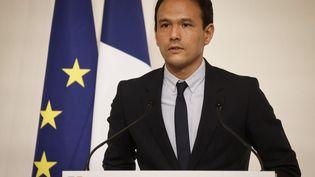 Cédric O, le secrétaire d'Etat au numérique, le 22 octobre 2020. (LUDOVIC MARIN / POOL / AFP)