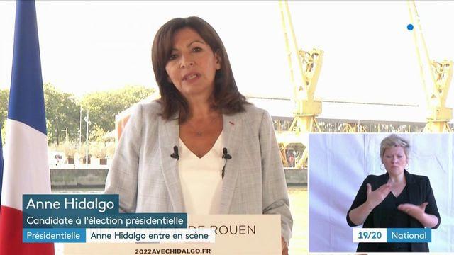 Présidentielle 2022 : Anne Hidalgo officialise sa candidature à Rouen