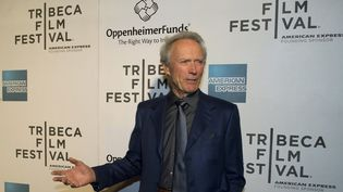 Clint Eastwood, le 27 avril 2013 au festival du film de Tribeca, à New York (Etats-Unis). (DON EMMERT / AFP)