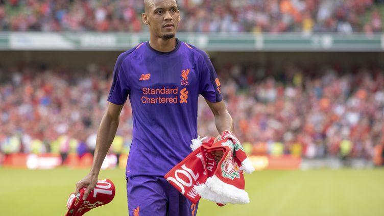 Fabinho sous les couleurs de Liverpool (ANDREW SURMA / NURPHOTO)