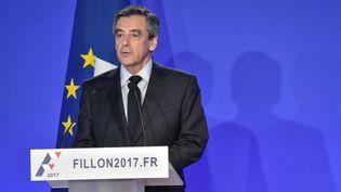 François Fillon a répondu aux questions des journalistes lors d'une conférence de presse lundi 6 février (JULIEN MATTIA / NURPHOTO)