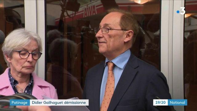 Patinage : Didier Gailhaguet démissionne