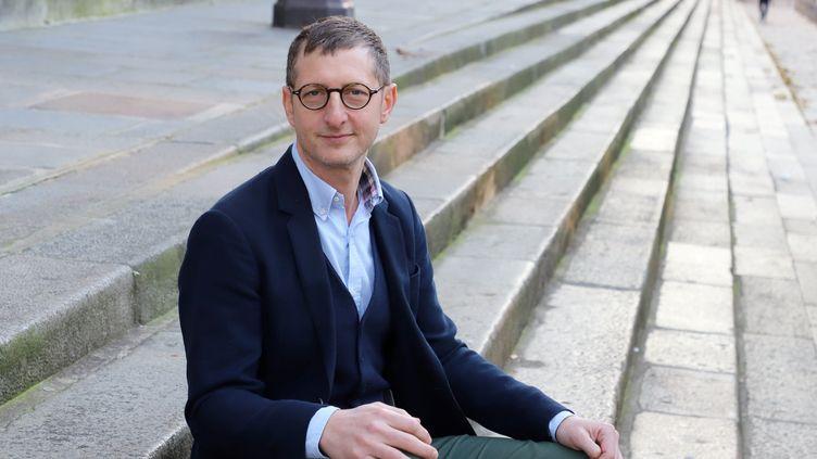 Ariel Weil, maire de Paris Centre. (DELPHINE GOLDSZTEJN / MAXPPP)