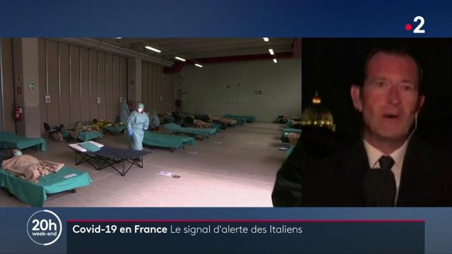 Coronavirus : l'Italie alerte la France