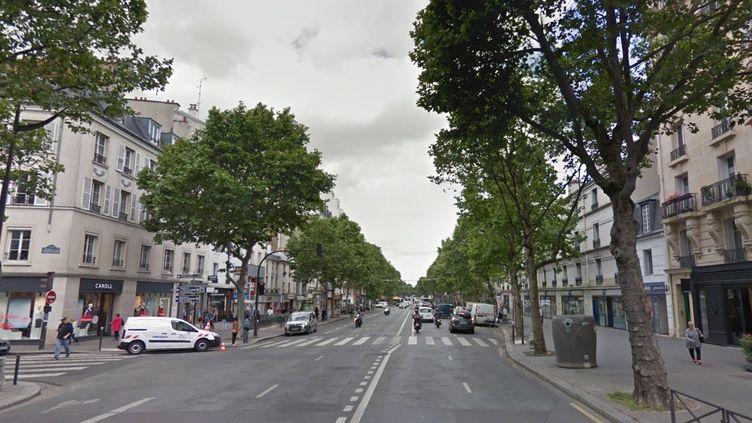 L'avenue du Général-de-Gaulle sera la première à bénéficier de l'expérimentation validée par le Conseil de Paris. (GOOGLE MAPS)