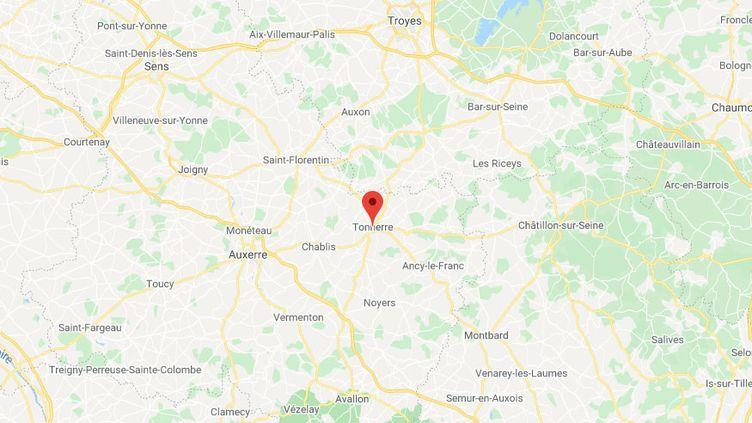 Tonnerre (Yonne) (GOOGLE MAPS)