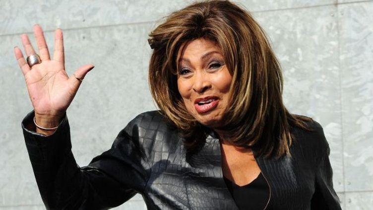 Tina Turner en 2011, à la fashion week de Milan  (GIUSEPPE CACACE / AFP)